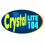 Logo da emissora Rádio Crystal Lite 104