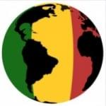 Logo da emissora Rádio Planeta Reggae