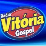 Logo da emissora Rádio Vitória Gospel
