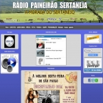 Logo da emissora Rádio Paineirão Sertaneja