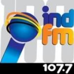 Logo da emissora Rádio Ind 107.7 FM