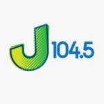 Logo da emissora WHAJ 104.5 FM