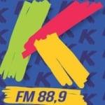 Logo da emissora Rádio Kairós 88.9 FM