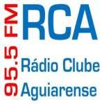 Logo da emissora Rádio Clube Aguiarense 95.5 FM