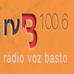 Logo da emissora Radio Voz de Basto 100.6FM