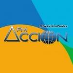 Logo da emissora Radio Accion 94.3 FM