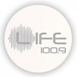Logo da emissora Radio Life 100.9 FM