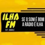 Logo da emissora Radio Ilha 97.5 FM