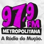 Logo da emissora Radio Metropolitana 97.9 FM