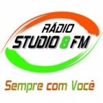 Logo da emissora Rádio Studio 8 FM