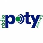 Logo da emissora Rádio Poty 590 AM