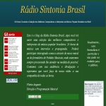 Logo da emissora Rádio Sintonia Brasil