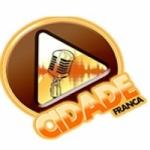 Logo da emissora Rádio Cidade Franca