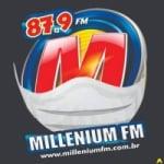 Logo da emissora Radio Millenium 87.9 FM
