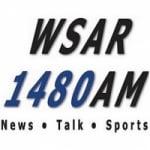 Logo da emissora Radio WSAR 1480 AM