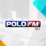 Logo da emissora Rádio Polo 100.7 FM