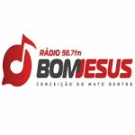 Logo da emissora Radio Bom Jesus 98.7 FM