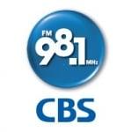 Logo da emissora Radio CBS Standard 98.1 FM