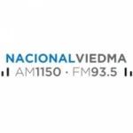 Logo da emissora Radio Nacional Viedma 1150 AM 93.5 FM