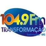 Logo da emissora Rádio Transformação 104.9 FM
