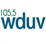 Logo da emissora WDUV 105.5 FM