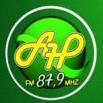 Logo da emissora Alfa Hits FM