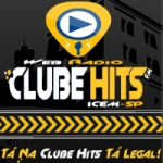 Logo da emissora Rádio Clube Hits Fm