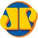 Logo da emissora Rádio Jovempan 91.5 FM