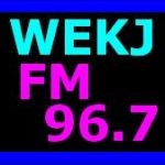 Logo da emissora WEKJ 96.7 FM