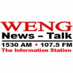 Logo da emissora Radio WENG 1530 AM 107.5 FM
