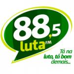 Logo da emissora Rádio Luta 88.5 FM