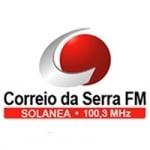 Logo da emissora Rádio Correio da Serra 100.3 FM