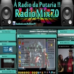 Logo da emissora Rádio Mix 70