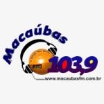 Logo da emissora Rádio FM Macaúbas 103.9