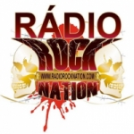 Logo da emissora Rádio Rock Nation