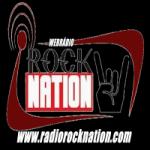 Logo da emissora Rádio Rock Nation