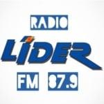 Logo da emissora Radio Líder FM 87.9
