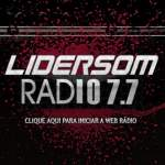 Logo da emissora Rádio Lidersom FM 107.7