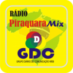 Logo da emissora Rádio Piraquara Mix