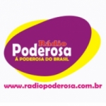 Logo da emissora Rádio Poderosa