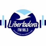 Logo da emissora Rádio Libertadora 96.3 FM
