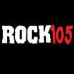 Logo da emissora WFYV Rock 105 FM