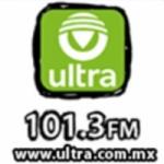 Logo da emissora Ultra Radio 101.3 FM