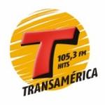 Logo da emissora Rádio Transamérica Hits 105.3 FM