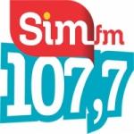 Logo da emissora Rádio SIM 107.7 FM