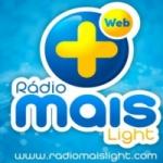 Logo da emissora Rádio Mais Light