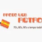 Logo da emissora Rádio Web Retrô