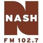 Logo da emissora Radio WHKR 102.7 FM