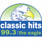 Logo da emissora Radio KWIC The Eagle 99.3 FM
