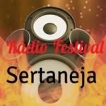 Logo da emissora Rádio Festival Sertaneja